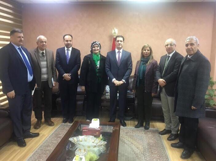 خبراء إعداد رؤية العراق للتنمية المستدامة ٢٠٣٠
