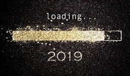 تهنئة العام الميلادي الجديد 2019
