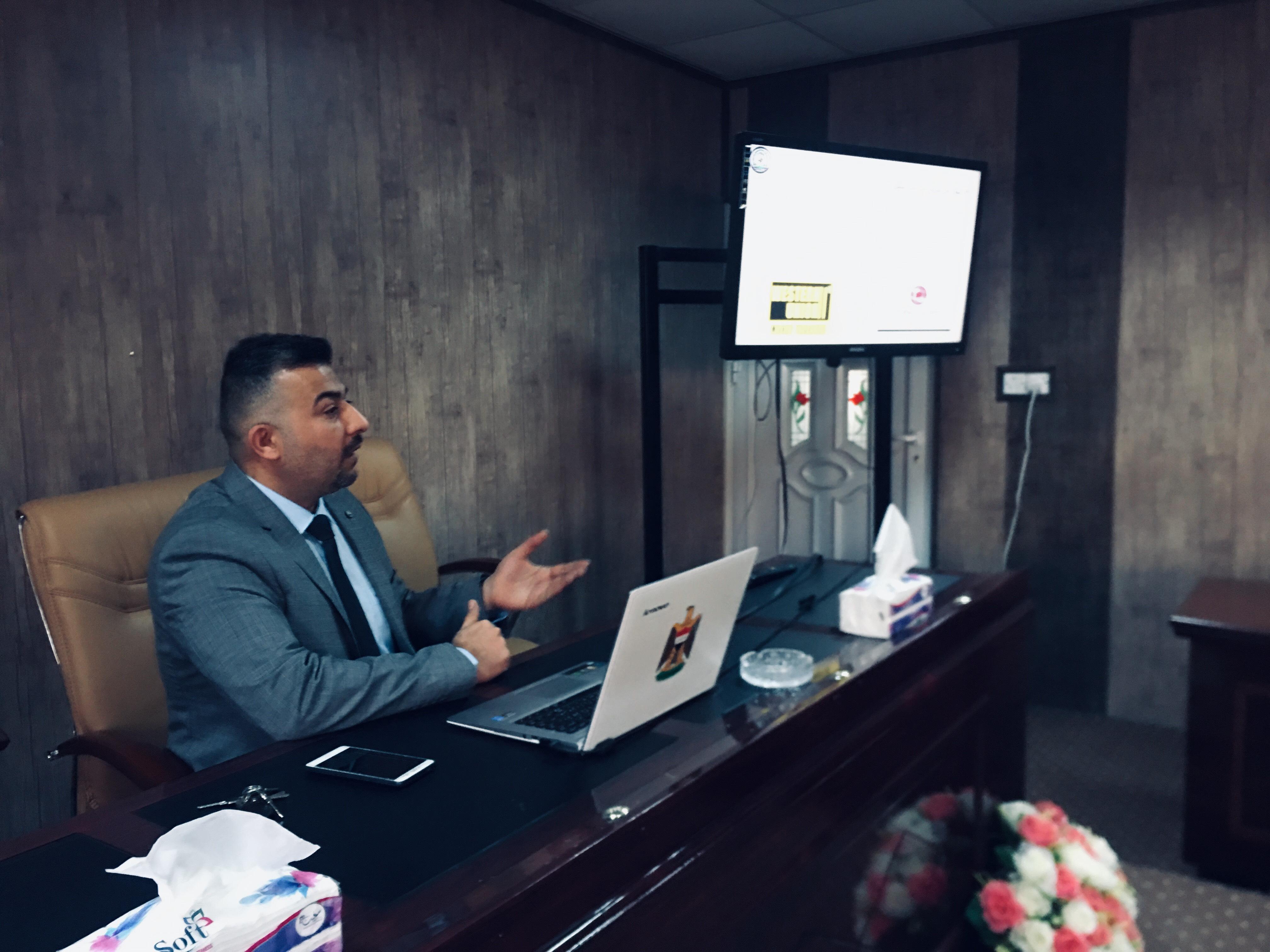 ورشة عمل (نظام الدفع الالكتروني سلبياته وايجابياته واثره على الواقع المعاشي في العراق)