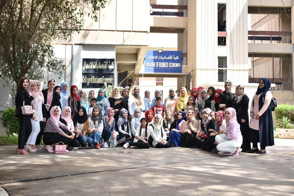 زيارة علمية لطالبات ثانوية دجلة للبنات