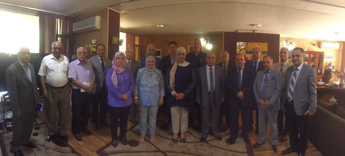 اجتماع اعضاء المجلس الوطني لاعتماد كليات الادارة و الاقتصاد في العراق