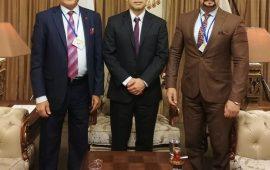 النهرين تستضيف السفارة اليابانية