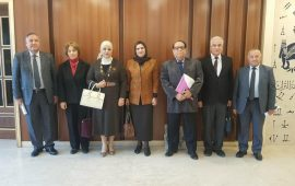 اجتماع لجنة خبراء العلوم الإدارية