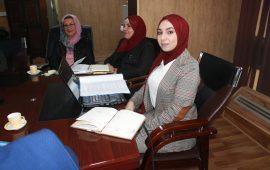 سيمنار طالبة  الماجستيرهبة مهدي صالح