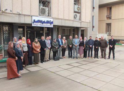 أحتفالية تكريم  الاستاذ المساعد الدكتور طالب عبد صالح