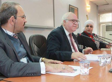 ندوة ( الوضع المالي الراهن في العراق ومستقبل الاتفاقية العراقية الصينية)