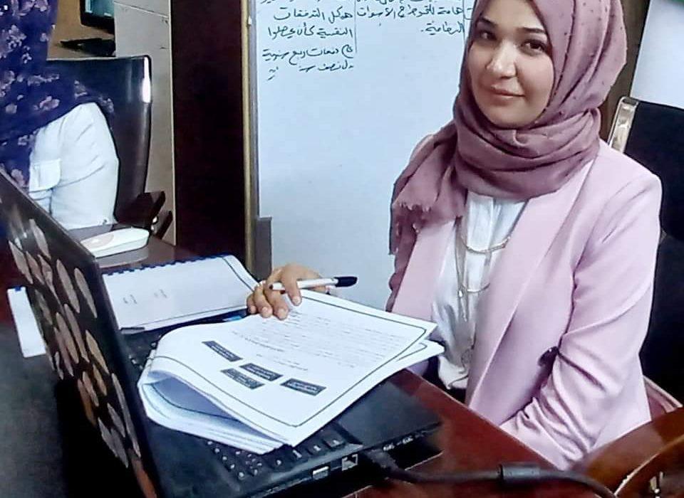 مناقشة السمينر الثاني للطالبة ميس باسم اسماعيل